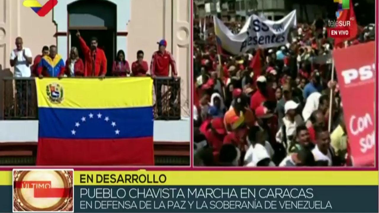 Gob. de Venezuela rompe relaciones diplomáticas y políticas con EE.UU.