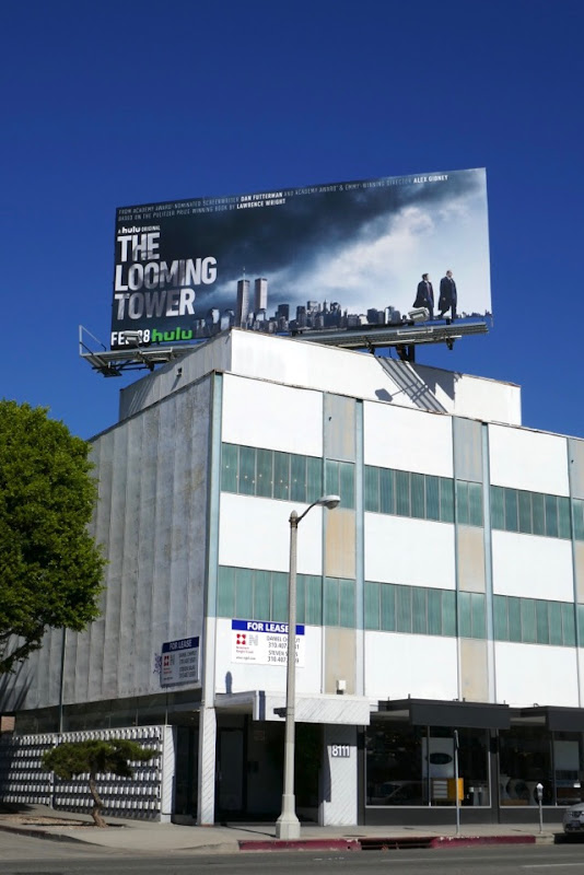 Looming Tower miniseries billboard