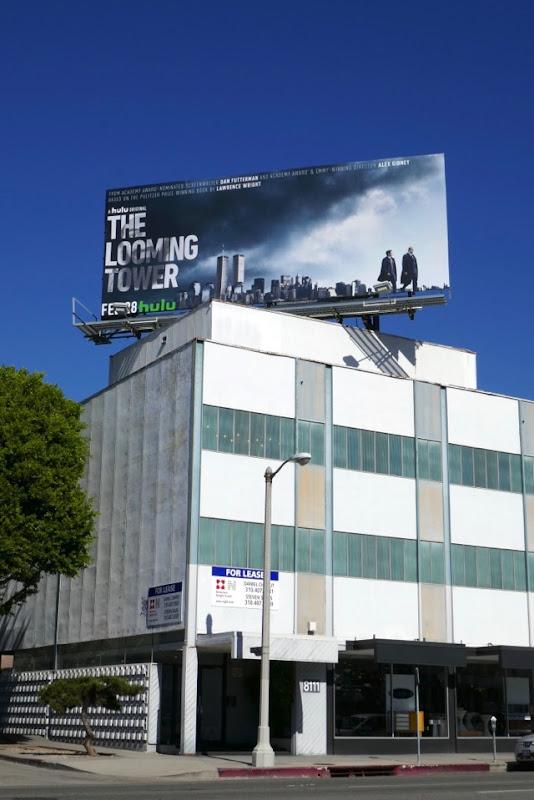 Looming Tower miniseries billboard