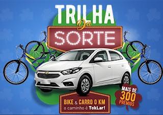 Promoção Toklar 2017 Trilha da Sorte Concorrer Bikes Carro Zero