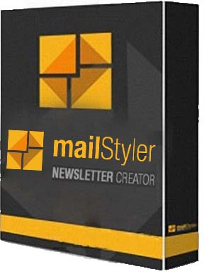 MailStyler Newsletter Creator Pro 2.0.0.310 poster box cover