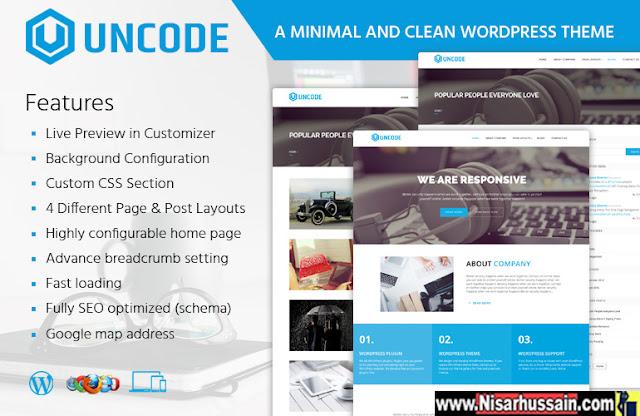 Uncode WordPress Premium Theme