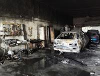 (ФОТО)Причина пожара: нарушение требований и норм пожарной безопасности при проведении сварочных работ