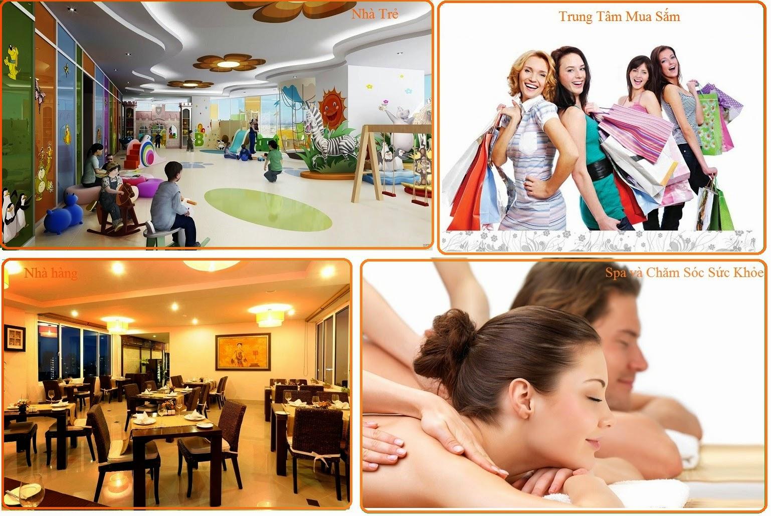 Tiện ích hiện đại dự án Green Pearl Minh Khai