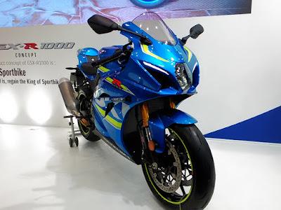 GSX-R1000 コンセプトモデル 東京モーターサイクルショー 2016