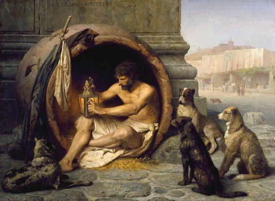 Jean-Leon Gerome - Diogenes