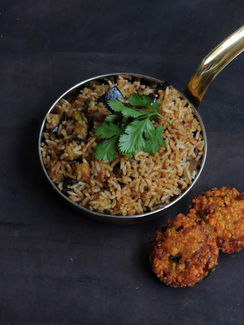 Vegan &Gluten free Eggplant rice