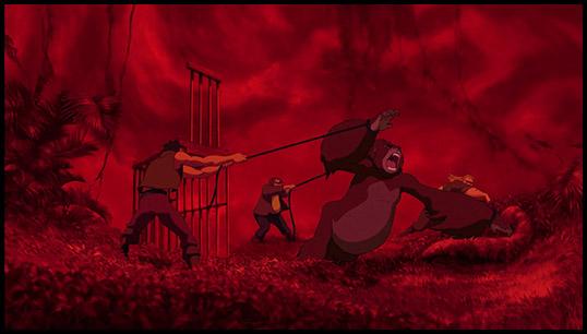2014 the year of disney project tarzan 1999 - Tarzan gorille ...