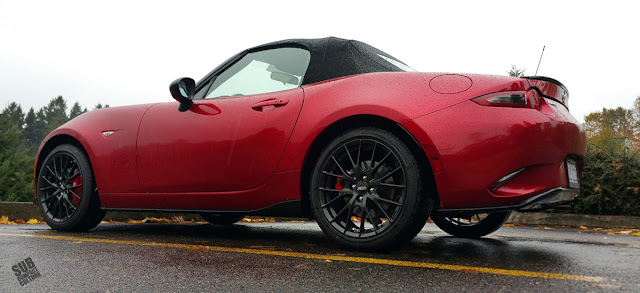 2016 Mazda MX-5 Miata Club rear