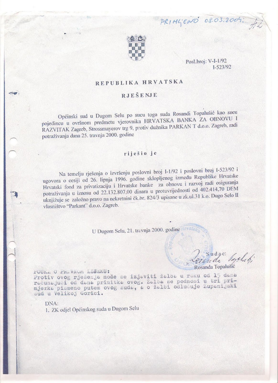 Otvoreno Pismo Bajiću I Jadranki Kosor Udruga Veronika Vere