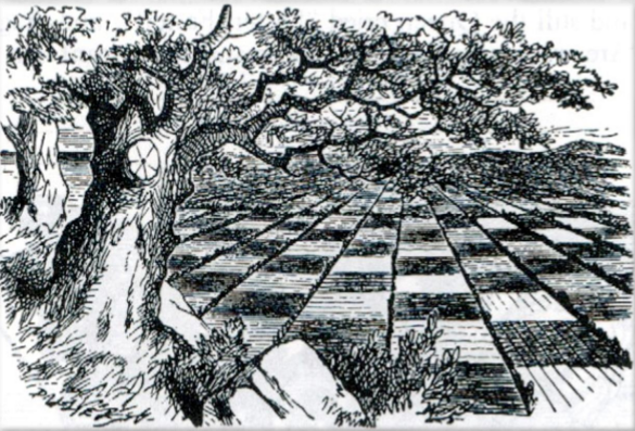 Looking Glass Land by Sir John Tenniel