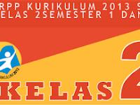 RPP Silabus K13 SD/MI Kelas 2 Semester 1 dan 2 Tahun Ajaran 2017/2018