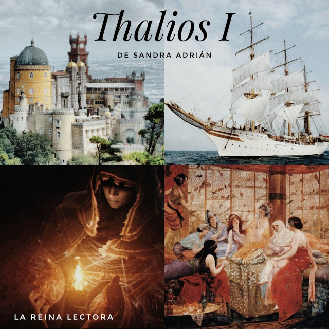 reseña libro fantasía Thalios Sandra Adrián
