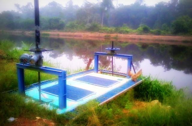 Terusan Ban Kenal - Kampung Sawah Sempadan, Tanjung Karang