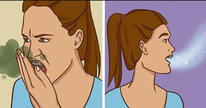 Here's How To Get Rid Of Bad Breath Naturally (Home And Cheap Tip)