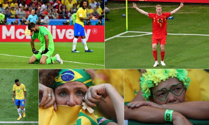 Neymar a casa: Belgio batte Brasile 2-1 e vola in semifinale contro la Francia | Mondiali Calcio Russia 2018, quarto di finale.