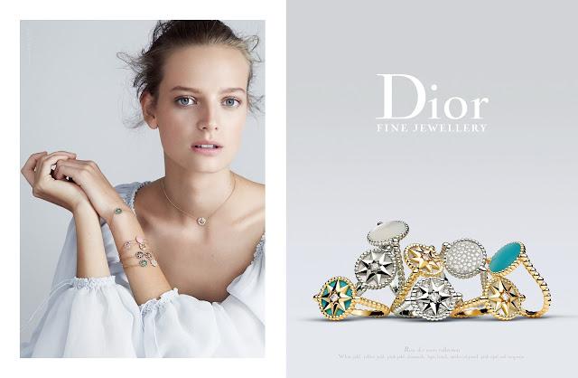 Dior's Latest Rose des Vents Campaign