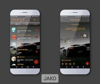 Dark Theme For YOWhatsApp & Fouad WhatsApp By Jako