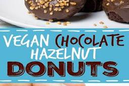 #Vegan #Donuts #with #Chocolate #Glaze