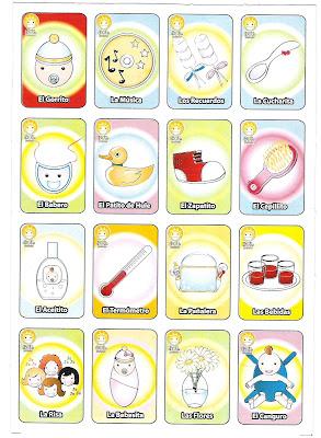 El Baul De Bertha Manualidades Loteria Para Baby Shower Juego
