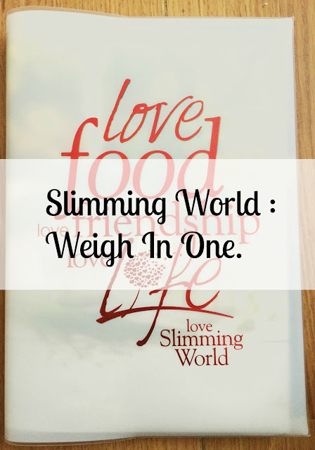 slimming world week one