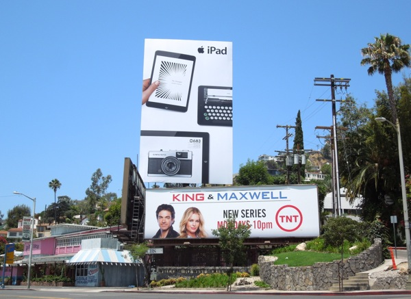 Apple iPad billboard Summer 2013