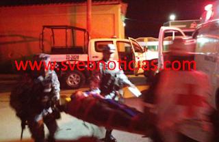 Riña deja dos hombres herios de bala en Minatitlan Veracruz