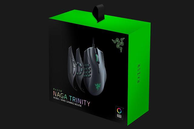 Razer Naga Trinity Untuk Gamer MMORPG