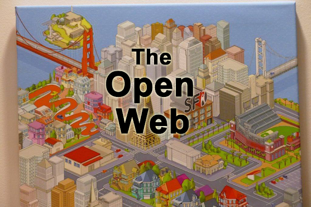 Marc Canter and Ben Werdmuller talks about the Open Web at SF New Tech