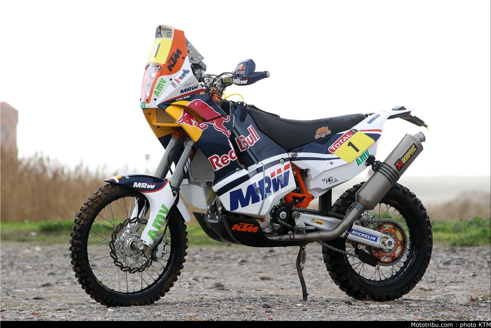 Racing Cafè: KTM 450 Rally MComa Dakar 2012