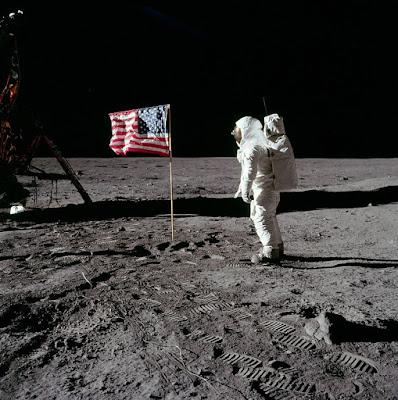 Buzz Aldrin pada misi apollo