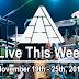 Live This Week: November 19th - 25th, 2017