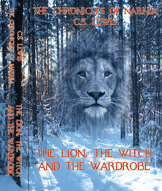 Drawing Bookcover Design: Digital Art & Design : The Lion, The Witch And The Wardrobe