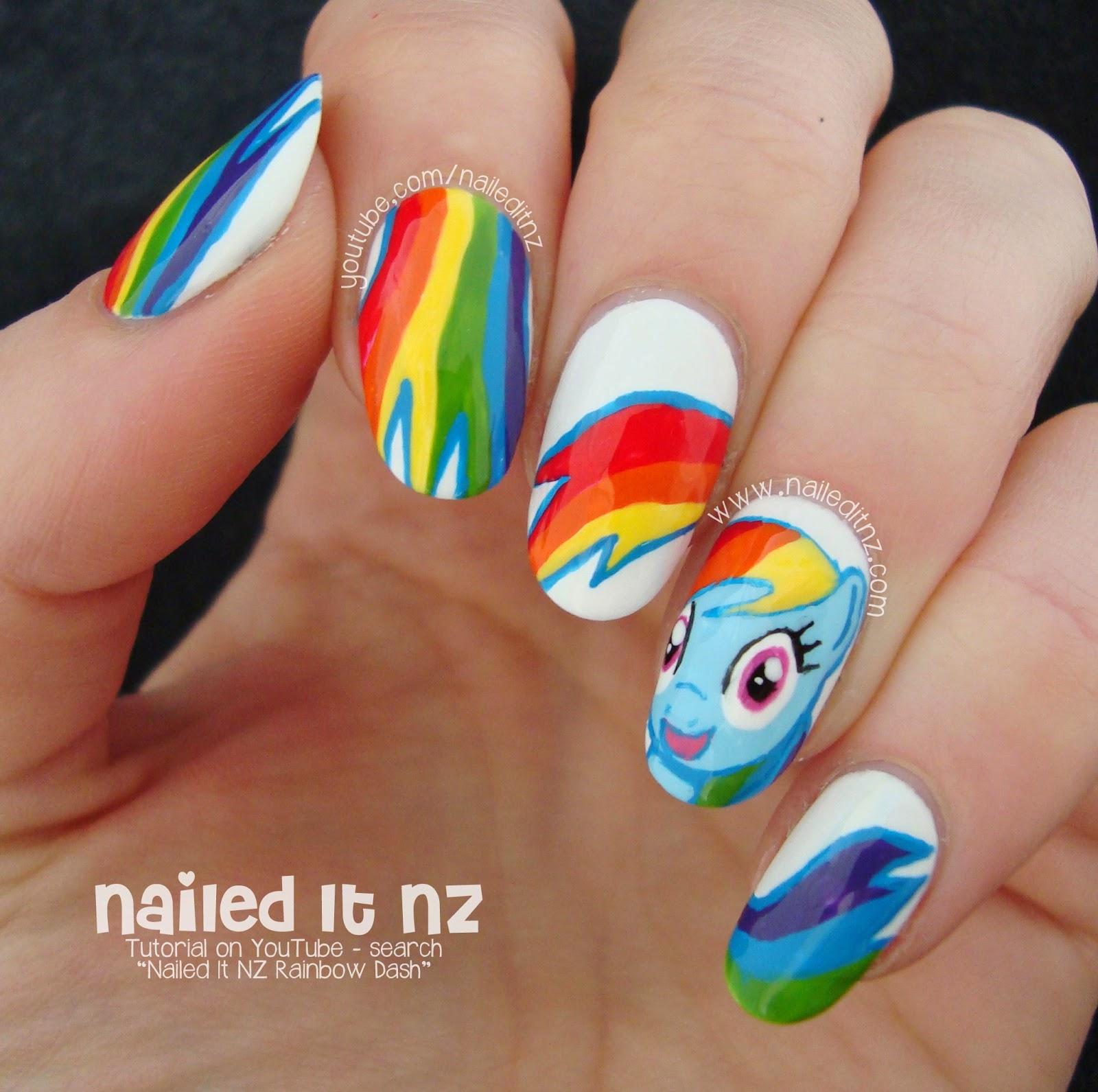 Rainbow Dash Nail Designs | www.pixshark.com - Images ...