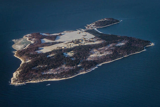 Prisión de la isla de Bastøy