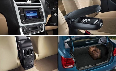 design interior Volkswagen Polo