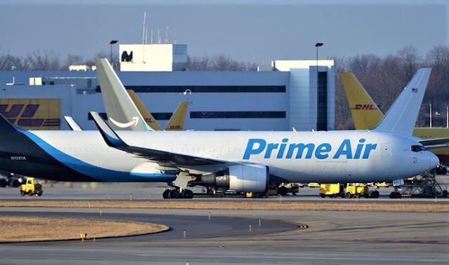 Amazon expands its fleet, threatening FedEx or UPS business