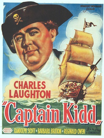 Captain Kidd movieloversreviews.filminspector.com poster