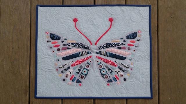 Pat Bravo mini quilt
