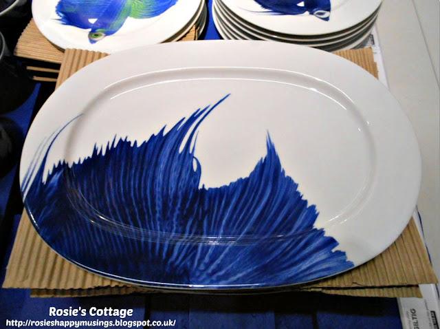 Large GILTIG platter