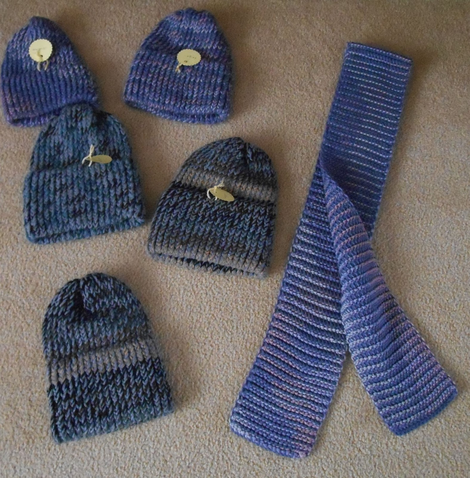 Bridge and Beyond: Knitted Hats and Scarves for the Homeless