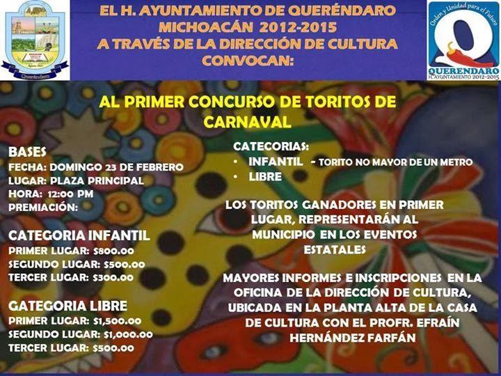 toritos de carnaval queréndaro