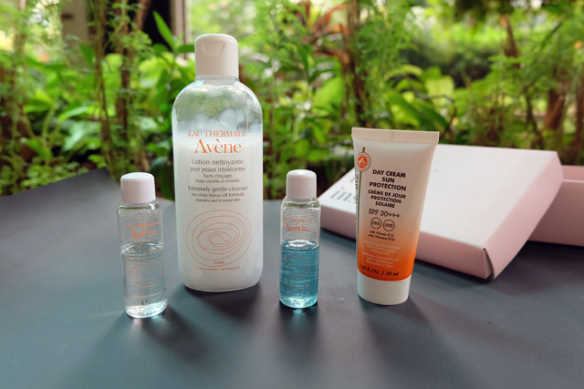 avene, vitacreme-b12, cleanser, sunblock, sunscreen