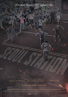 Seoul Station Animated Train to Busan Prequel Official poster