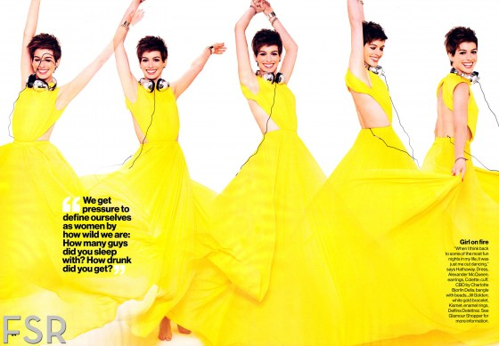 Anne Hathaway Magazine January 2013