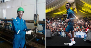 Mr Eazi Shares Throwback Picture To Prove That He Left A 2 Million Monthly Job For Music