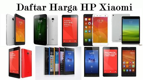 Daftar Harga HP Xiaomi Redmi Series Terbaru 2016