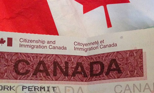 Passport has been collected from the canada visa application