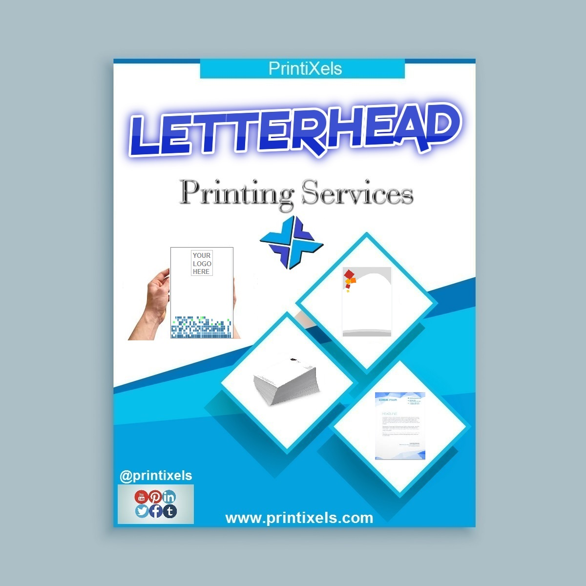 Business Letterhead Printing Services