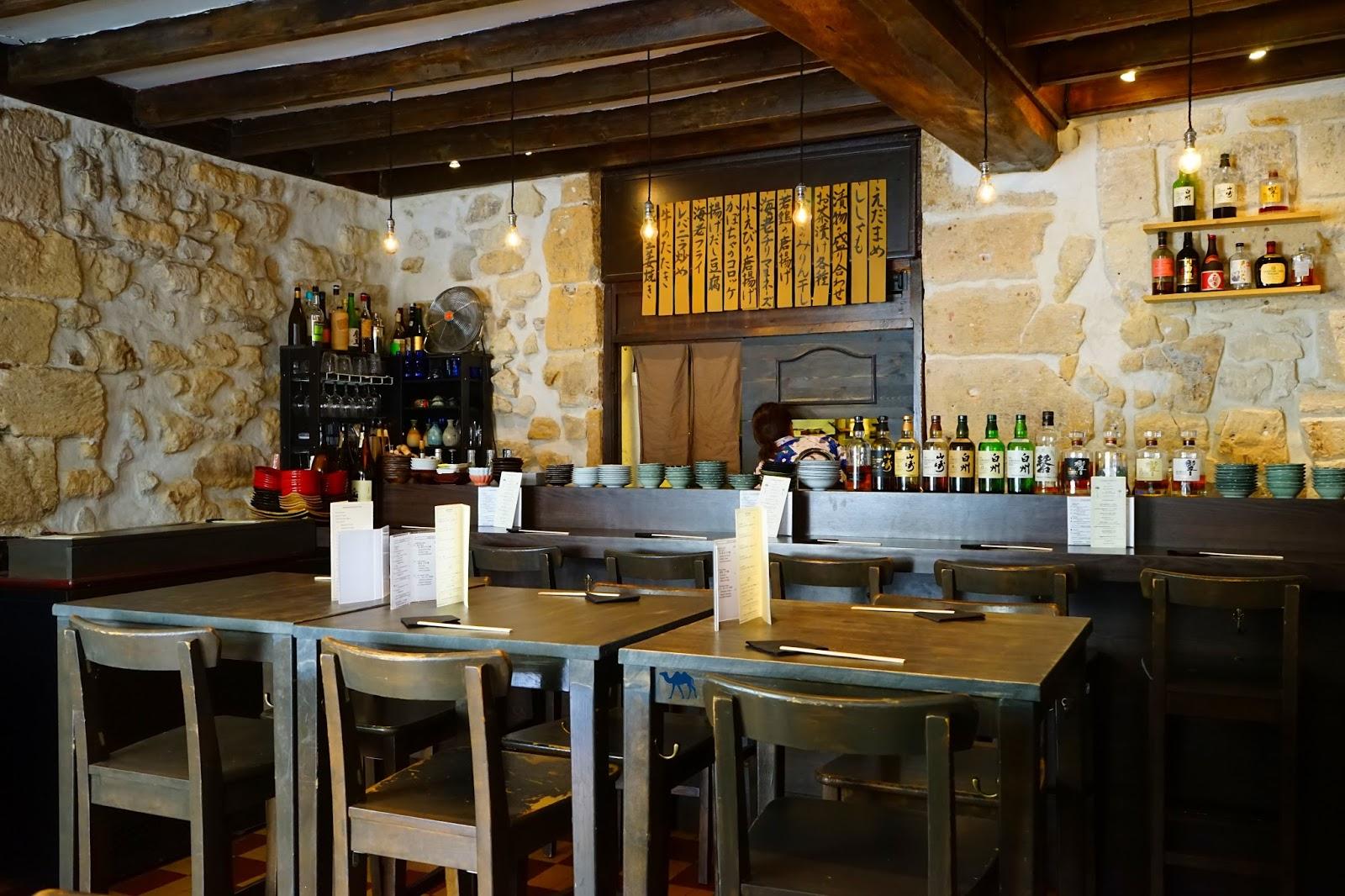 Restaurant Lengué  Paris - Salle - Le Chameau Bleu